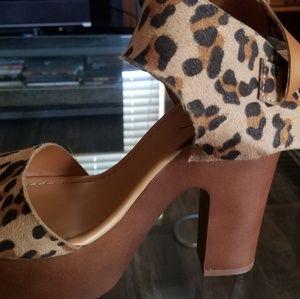 Breckelles Shoes - Leopard print shoe
